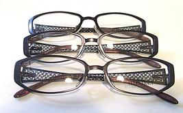 Ellen Tracy Women's Eyeglass Frames For Rx 130 Mm Postiano Eggplant Lot Of 3 - $36.14