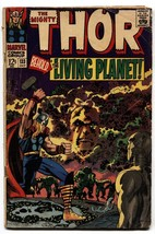 Thor Comics #133 comic book 1966 Marvel Silver Age EGO Living Planet - $30.26