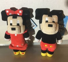 """Disney Crossy Road 6"""" Plush Mickey & Minnie Mouse Series 1 New Collectible Toy - $6.44"""