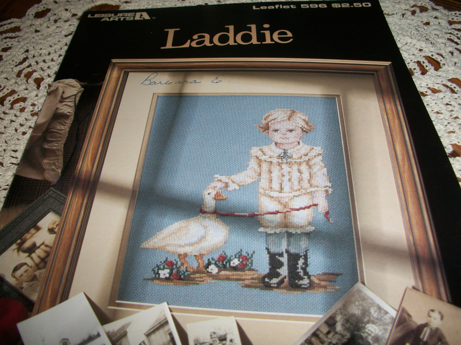 Primary image for Laddie Counted Cross Stitch Leaflet 596