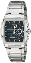 Casio Men's EFA120D-1AV Ana-Digi Edifice Thermometer Bracelet Watch - $121.85 CAD