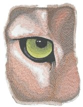 "Custom and Unique Eye Of Cougar Embroidered Iron on/Sew patch [7""5""] [Ma... - €14,48 EUR"