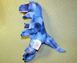 "18"" Build A Bear BLUE T REX DINOSAUR STUFFED ANIMAL STEPHEN THE DINO W/S... - $19.80"