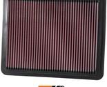 K&N Replacement Air Filter Fits Kia Sorento 3.5L-V6; 2002-2009 33-2271