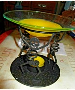 PartyLite Halloween Bones Skeleton Aroma Melts Warmer & Extra Wax  - $18.49