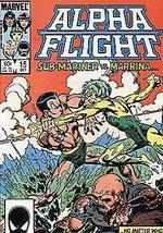 Alpha Flight, Edition# 15 [Comic] [Jan 01, 1983] Marvel - $3.91