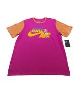 NIKE Air Ringer 90's T-Shirt sz XL Extra Large Pink Orange - $27.99