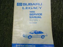 1990 Subaru Legacy General Information Service Repair Shop Manual FACTOR... - $19.75