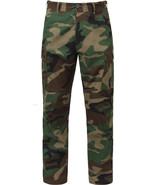 Woodland Camouflage Military Rip-Stop BDU Pants... - $27.99 - $33.99