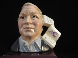 "Royal Doulton Small Character Jug ""Figure Collector""  D7156 - $42.74"