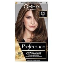 L'Oreal Preference 5.0 BRUGES LIGHT BROWN Luminous Hair Dye Permanent GR... - $20.47