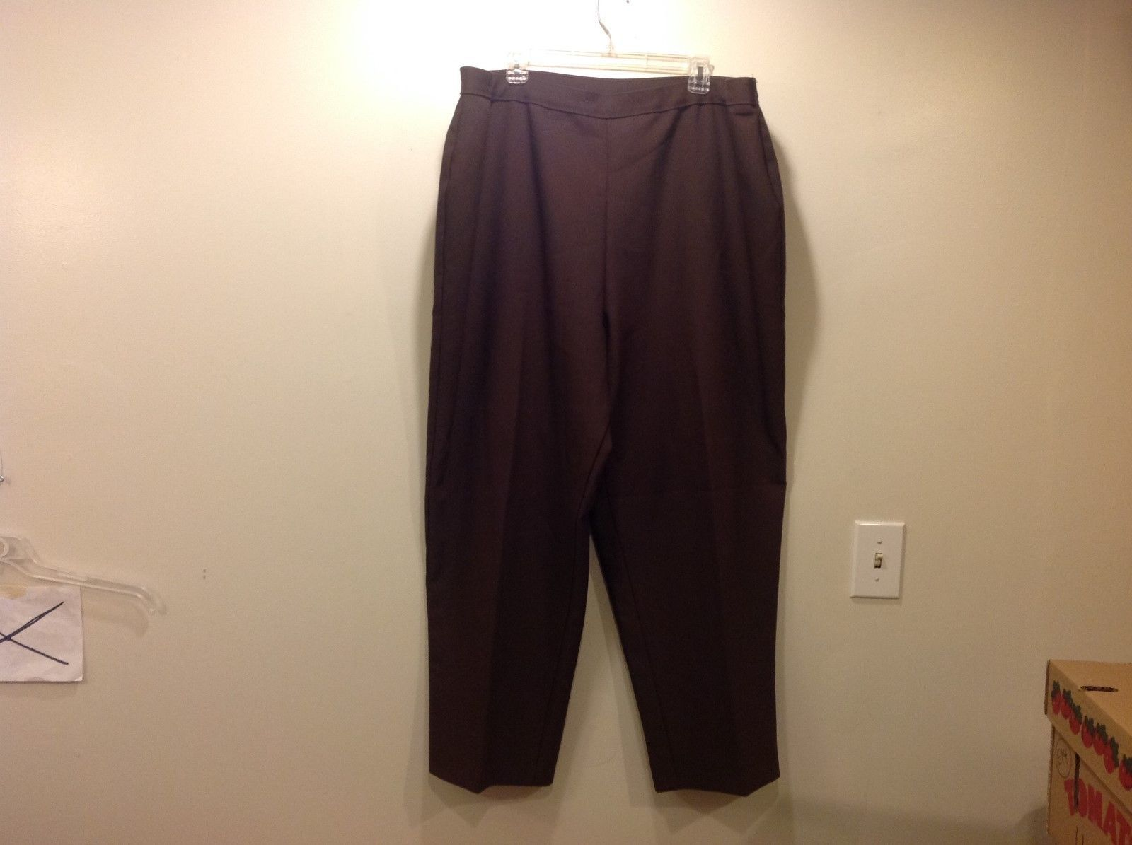 Bend Over Brown Dress Pants sz 48
