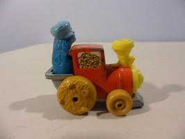 Vintage Cookie Monster SESAME STREET Car Train Toy1981 Muppet's Diecast - $8.90