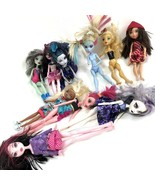 Doll Lot Monster High and more missing parts damaged for crafts  - $29.69