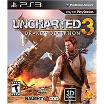 Sony 711719823322 Uncharted 3: Drakes Deception - PlayStation 3 - $21.24