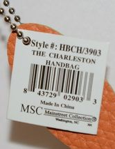 Mainstreet Spring Collection HBCH3903 Charleston Handbag Color Tangerine image 5