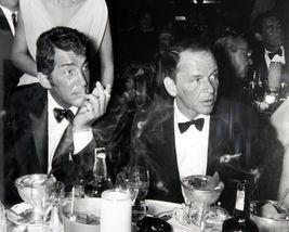 Frank Sinatra Dean Martin HM Vintage 11X14 Matted BW Music Memorabilia Photo - $14.99