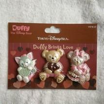 Tokyo Disney Sea Duffy & Friends Magnet Set Sherry Meijera Toni TDR - $54.45
