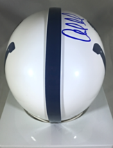 ANDREW LUCK - INDIANAPOLIS COLTS - AUTOGRAPHED COLTS LOGO MINI HELMET - W/ COA image 5