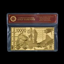WR Kazakhstan 10000 Tenge Gold Banknote Commemorative Note Collection Set - $3.31