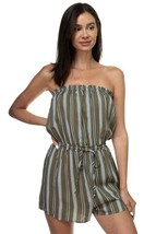 Tube Top Stripe Romper - $19.00