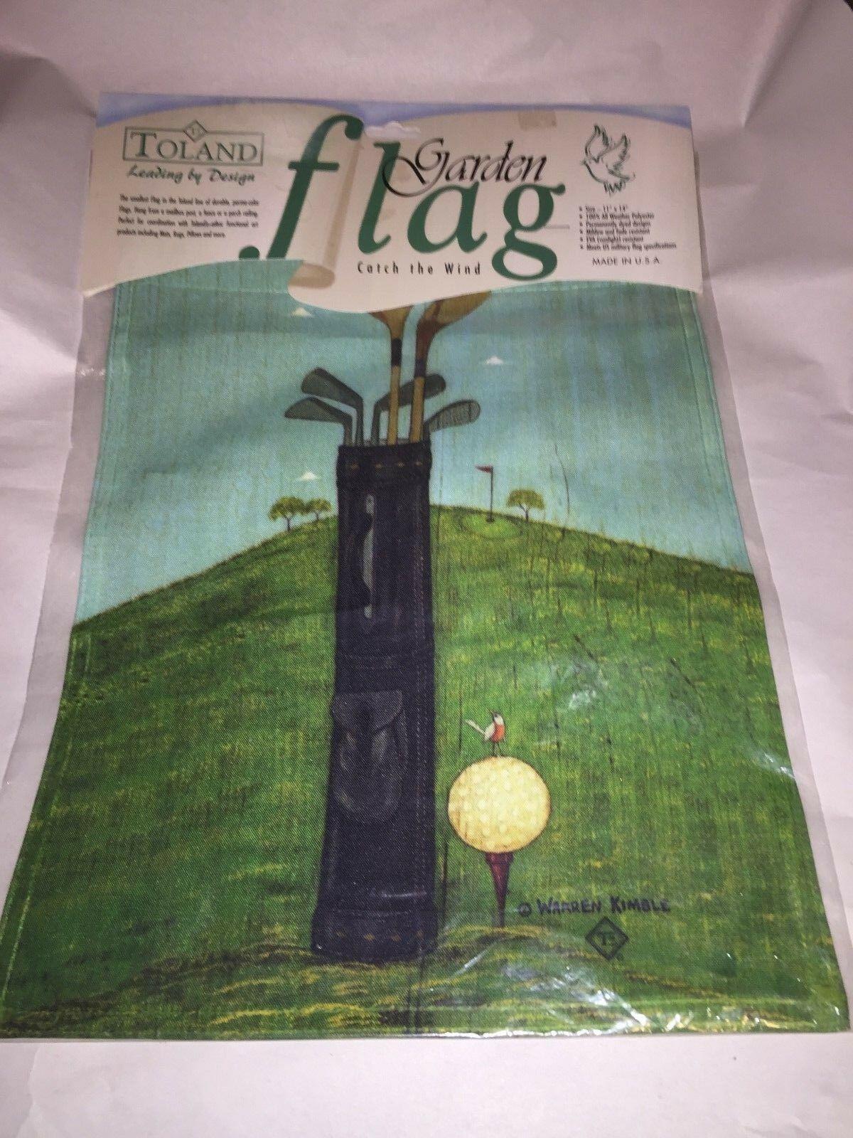 Toland Brand CATCH THE WIND GARDEN FLAG, 11X14, Golf Flag     cc - $9.49