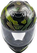 XS Fly Racing Sentinel Ambush Motorcycle Helmet Camo/Green/Grey DOT & ECE  image 4