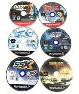 PS2 PlayStation 2 Game Bundle 007 SSX Tekken Tag Commandos 2 Disc Only T... - $10.23