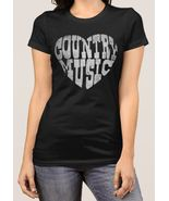 I LOVE COUNTRY MUSIC LOVERS T SHIRT - £21.05 GBP
