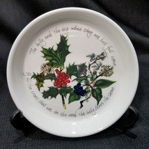 """Portmeirion The Holly & The Ivy 4.5"""" Coaster / Sweet Dish - $9.49"""