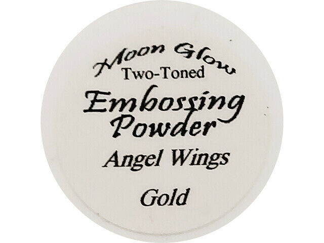 Moon Glow Two-Toned Embossing Powder Angel Wings Gold
