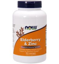 NOW Elderberry & Zinc | Dietary Supplement - 90 Lozenges - $23.64