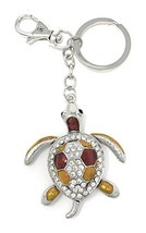 Kubla Craft Bejeweled Articulated Sea Turtle Key Chain, 5.5 Inches Long - $16.26