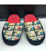 SNOOPY SLIPPER SHOES CHARLIE BROWN slip ons good grief lucy small 5-6 bl... - $27.72