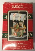 "Enesco ""Santa's Sweets"" Ornament Second in the Yuletide Fair Series - $24.74"