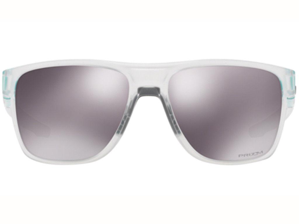 Oakley Crossrange XL sunglasses Matte Clear Prizm Black OO9360-1958 Authentic