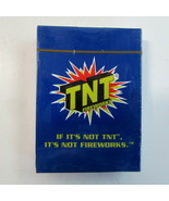 Sealed Deck of TNT Fireworks Advertising Playing Cards  in Original Seal... - $9.50