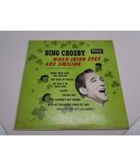 Bing Crosby When Irish Eyes Are Smiling Decca Records - $16.34