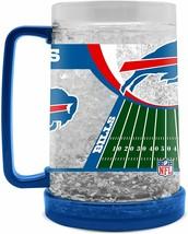 Buffalo Bills 16 oz NFL Crystal Freezer Mug - New - $19.99