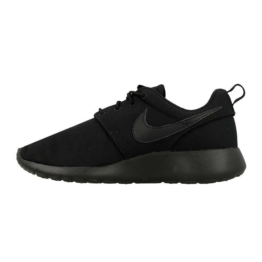 Nike Roshe GS 599728-031 Black Junior Boy shoes