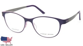 NEW PRODESIGN DENMARK 6302 c.3021 LILAC EYEGLASSES FRAME 52-16-130 B39mm... - $153.44
