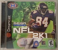 N) NFL 2K1 Football (Sega Dreamcast) Video Game - $4.94
