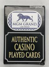 GENUINE LAS VEGAS MGM GRAND CASINO PLAYING CARDS - $10.22
