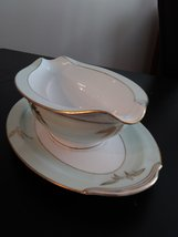 Vintage Gravy Boat Attached Plate Noritake China Made In Japan #5286 Alice Patte image 4
