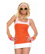 Halloween Costume James Bond Girl Style 1960's Go-Go Girl Mini Dress Costume - $29.99