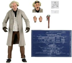 """NECA Back to the Future Doc Brown Ultimate 7"""" Action Figure 1:12 Brand New - $64.99"""