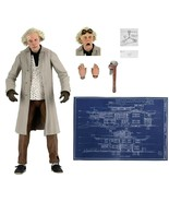 "NECA Back to the Future Doc Brown Ultimate 7"" Action Figure 1:12 Brand New - $64.99"