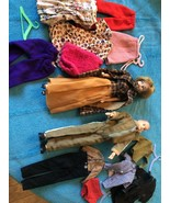 VINTAGE IDEAL 1965s Original Grow Hair Tressy & Tammy Family Doll Clothes, - $124.99