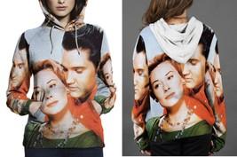 Marlyn Manson & Elvis Potrait Hoodie Women - $45.99+