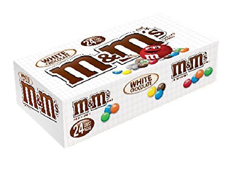 M&M White Choc 24Ct - Pack of 24 for sale  USA